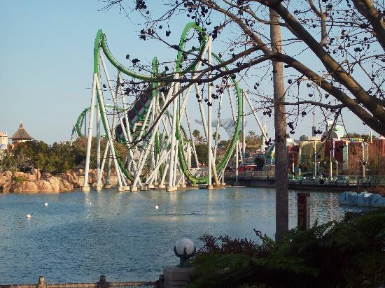 Orlando, FL: Hulk Coaster - IOA
