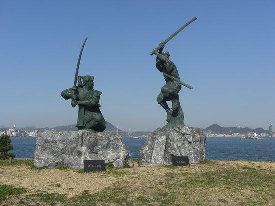 Shimonoseki, Japan: 武蔵と小五郎