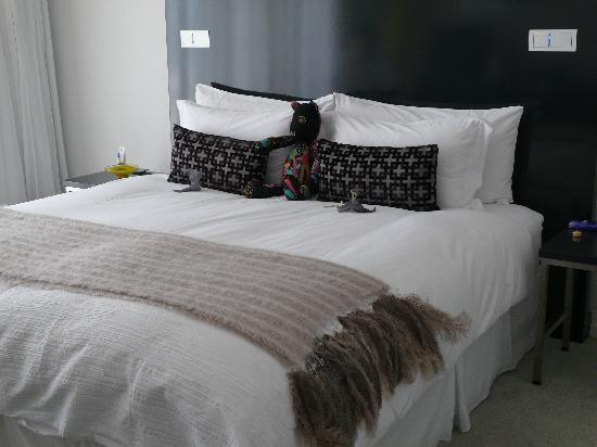 Dysart Boutique Hotel: geschmackvoll dekoriertes Bett