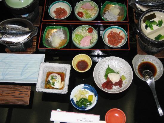 Toi Fujiya Hotel: 朝食 これに伊勢エビの味噌汁がつく