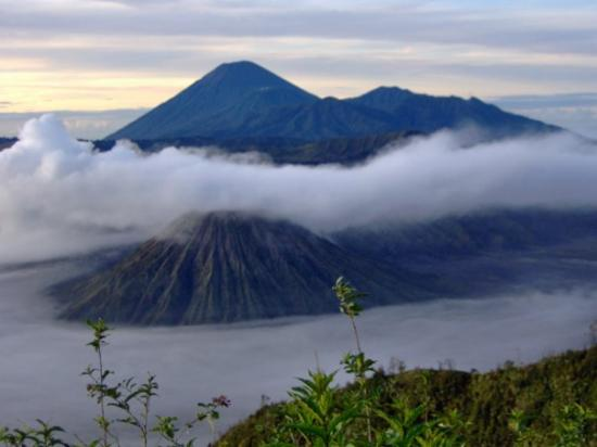 Tengger Caldera, Indonesia: Negeri di atas awan