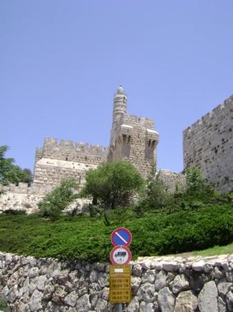 Musée de la Tour de David : David's Tower (built by Herod). Walled City, Jerusalem