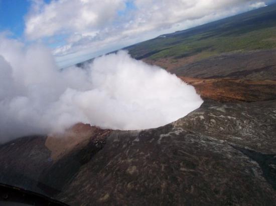 Mt. Kilauea: Pu`u `O`o vent