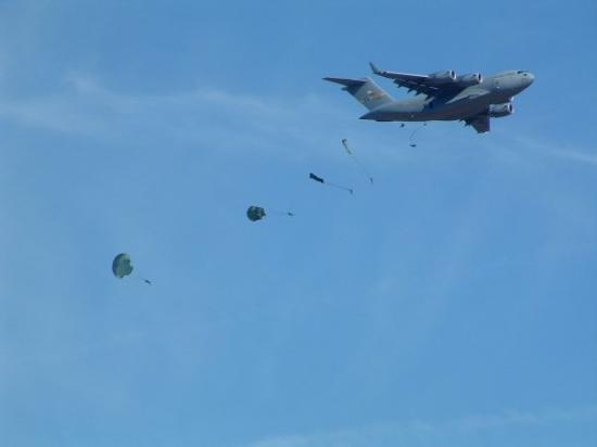 Fort Bragg, NC: Airdrop @ Bragg