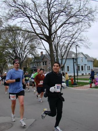 Fargo Marathon: Looking good and having fun.