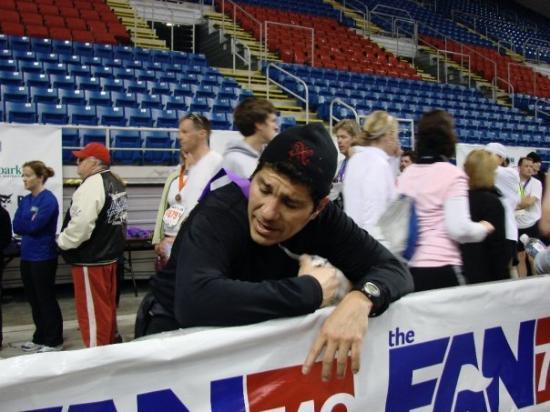 Fargo Marathon: Ow.