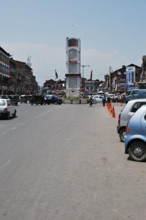 Srinagar, India: Lal Chowk  For years, it has stood still, while time passed. From the scent of saffron to the
