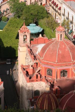 Church of San Diego (Iglesia de San Diego): queso or cheese and church of san fransisco?