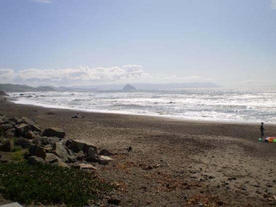 Cayucos, CA: The morning of the wedding. Beautiful!