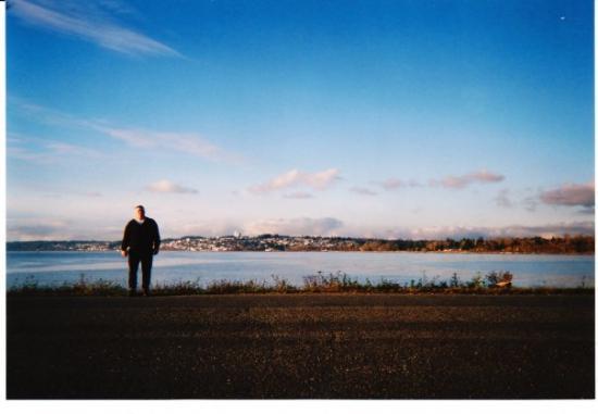 แบลน, วอชิงตัน: This is taken in Blaine with White Rock Canada across the water