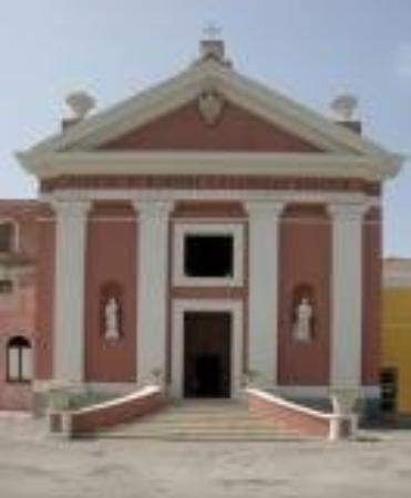 Ventotene, Itália: church of santa candida