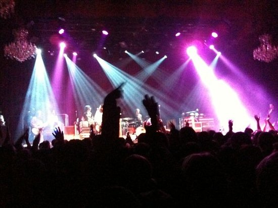 Black Crows, at the Fillmore.