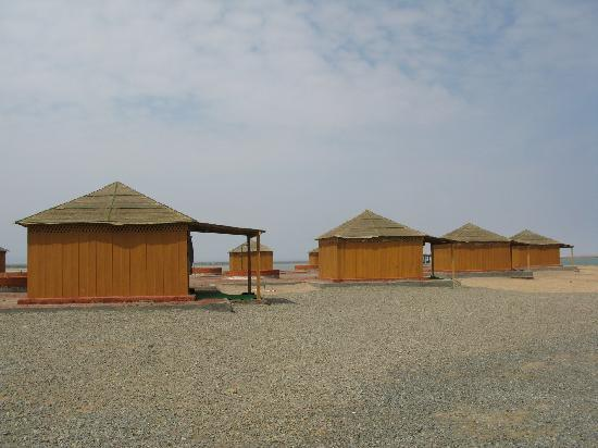 Port Sudan, Sudão: bungalows