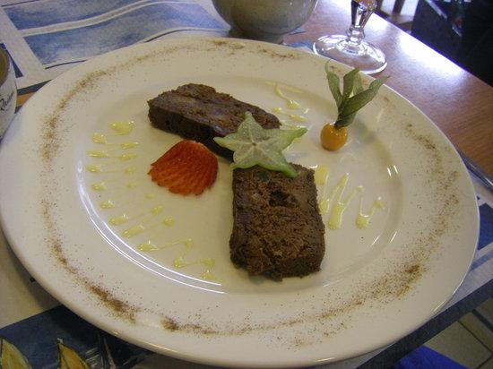 Le Menhir: Un des nombreux desserts proposés