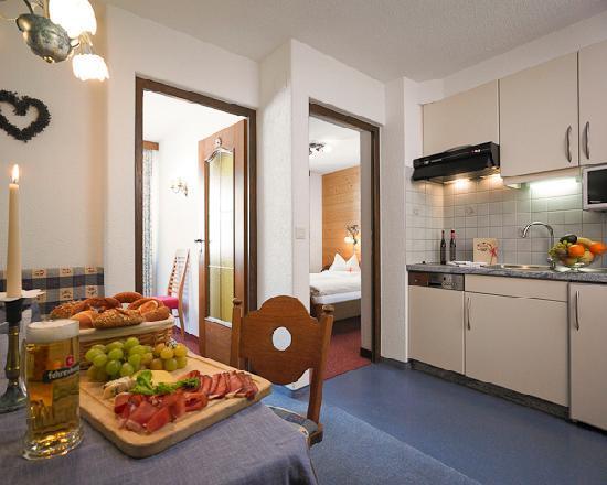 Hotel Garni Lavendel: Appartement: Kriegerhorn