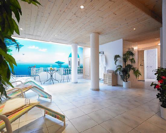Hotel Garni Lavendel: Ruheraum im Saunabereich
