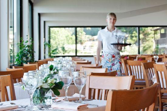 Perama, Grecia: Hotel main buffet restaurant