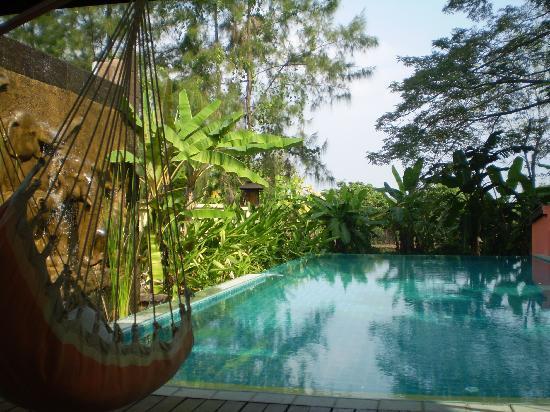 Dreamcatchers B&B: The infinity pool!