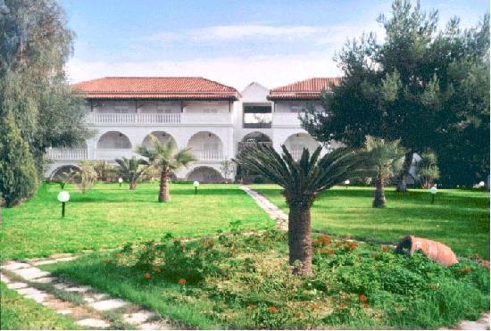 Vassilina Studios: Blick auf die Apartments