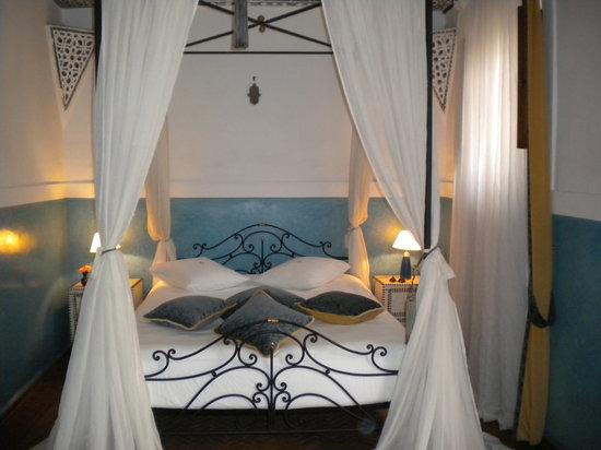 "Riad le Clos des Arts : La chambre ""turquoise"""