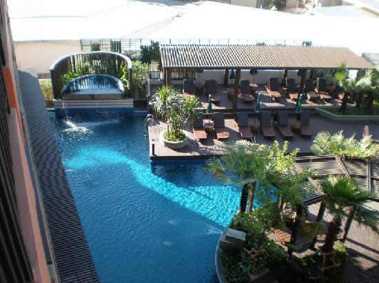 Patong Merlin Hotel Another Pic Of Pool