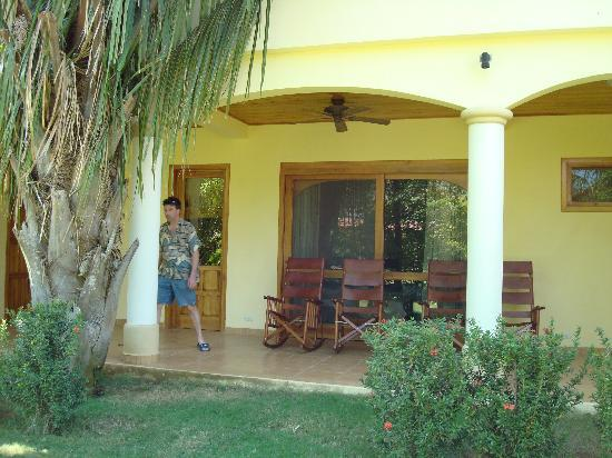 Villa Del Sol: Veranda