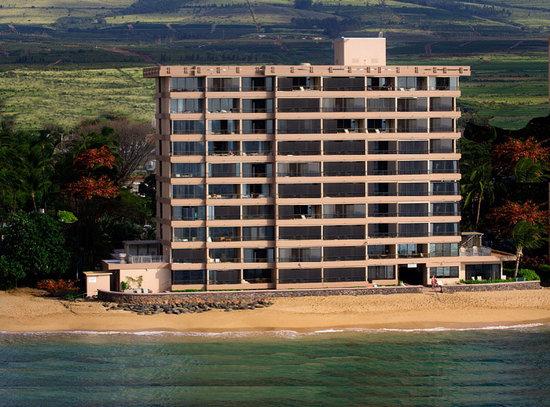 Maui Kai : Aerial from Ocean