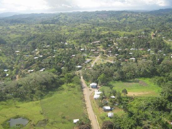 Panama: Vista del Pueblo de COCLESITO