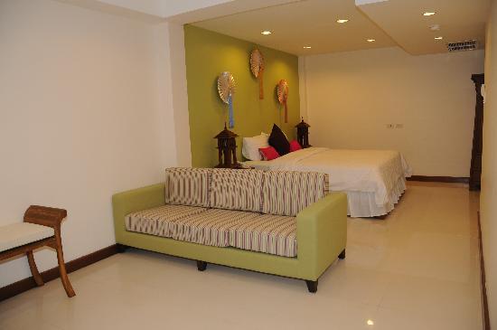 Lullaby Inn: executive balcony