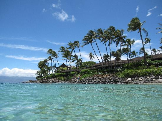 Napili Kai Beach Resort: The beautiful water in the Bay