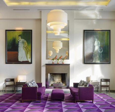 Lobby at The Fitzwilliam Hotel Dublin