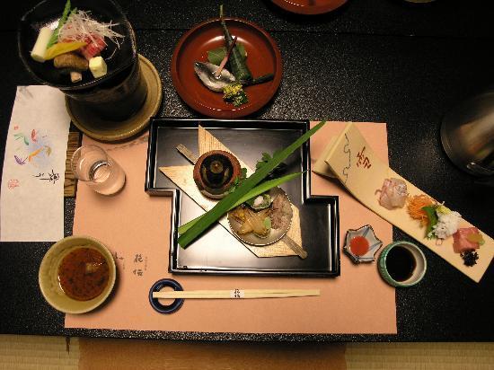 Kaden: Le repas : Kaiseki