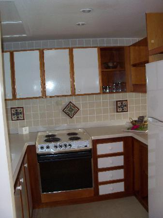 Hotel L'Esplanade: Kitchen of loft suite #8