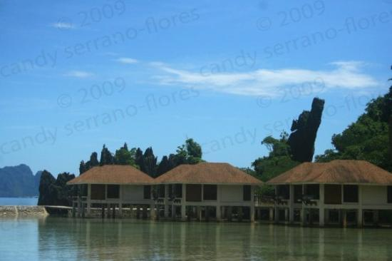 El Nido Resorts Lagen Island: water cottages