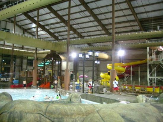 Cortland, Nowy Jork: Part of the water park