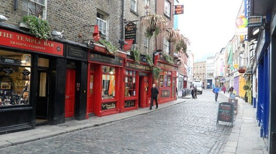 The Historical Walking Tour of Temple Bar