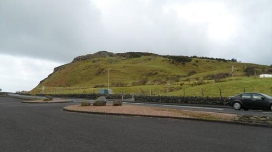 Ballycastle, UK: 2-5-10 Driving the Antrim coast - mountains.