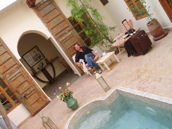 Riad Le Coq Berbere: patio