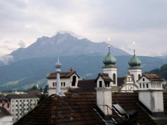Boutique Hotel weisses Kreuz: Rooftops in Lucerne