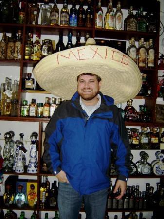 Rosarito, México: Tequila Johnnie !!!