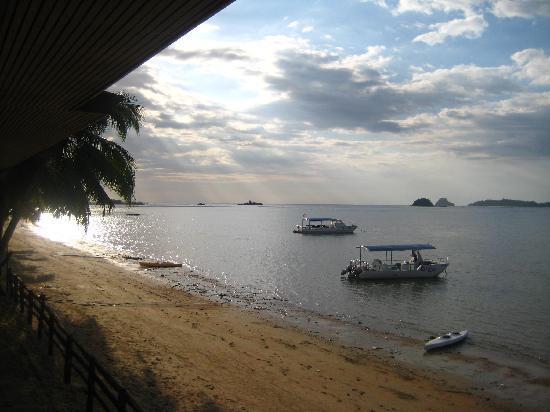 Seaside Travellers Inn: View from resturant