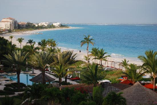 Grace Bay: view from our room
