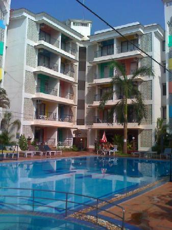Palmarinha Resort & Suites: The swimming pool