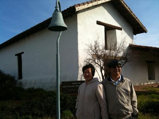 Alexandra's Plaza Suite: Sonoma mission bell