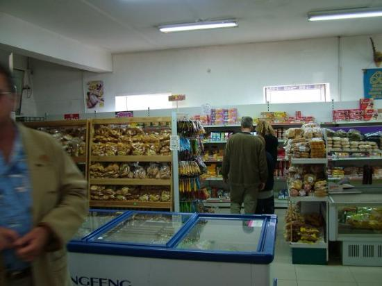 Ulaanbaatar, Mongolia: Stopping at the grocery store before driving 14 hours in desert.