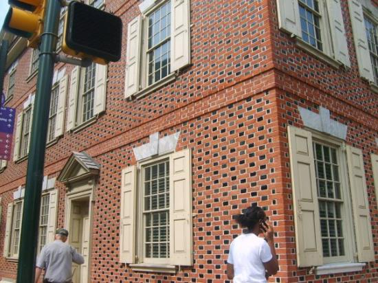 Declaration House (Graff House): Declaration House, where Thomas Jefferson, wrote the majority of the Declaration Of Independence