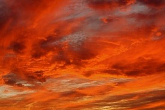 Bahia Kino, Mexico: The sky's on Fire