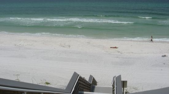 Seagrove Beach, FL: New steps.