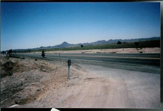 Outside Palo Verde California