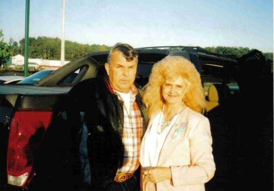 Alabama, NY: EL and late husband in 2005 traveling to Veteran's Hospital,  B'ham, Al.